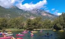 Kayak plan d eau hautes alpes