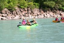 kayak en riviere hautes alpes