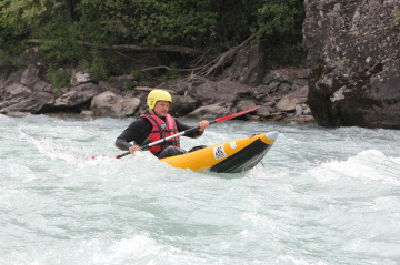 kayak inflatable alps durance