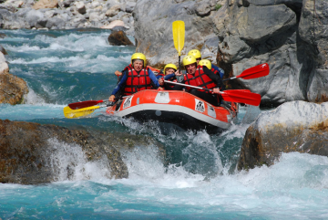 rafting in the guil