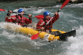 canoe raft durance