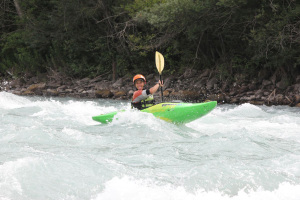 kayaking durance alps