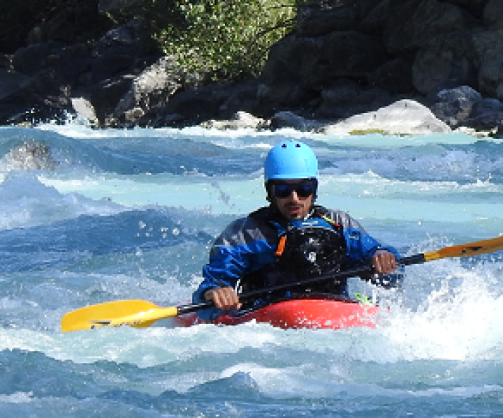 stage kayak rivieres des alpes