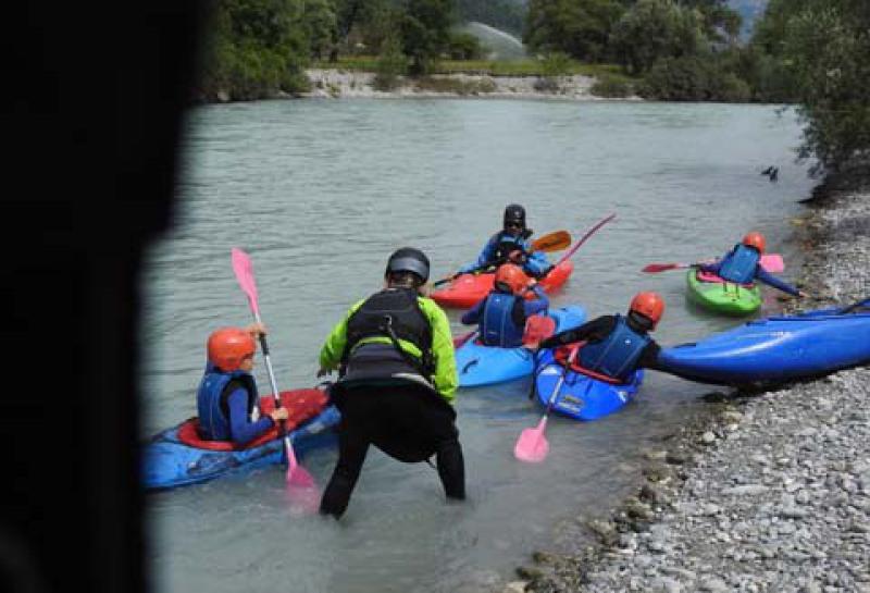 apprendre le kayak hautes alpes