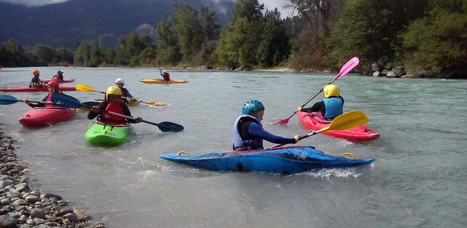 kayak juniorhautes alpes