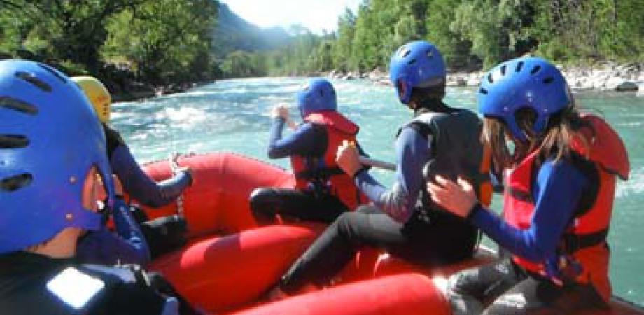 ou faire du rafting pour enfant
