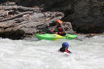 kayak sur la DUrance les alpes