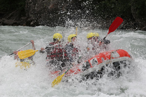 rafting white water alps