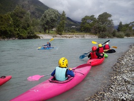 course kayak alps