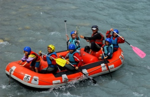 children kayak guillestre embrun alps