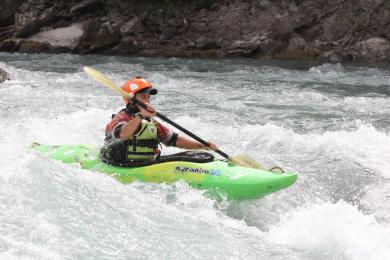julien kayaking