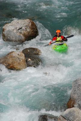 midou kayaking