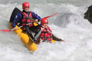 canoe raft alps durance