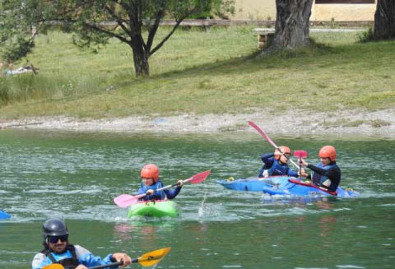 le kayak ados