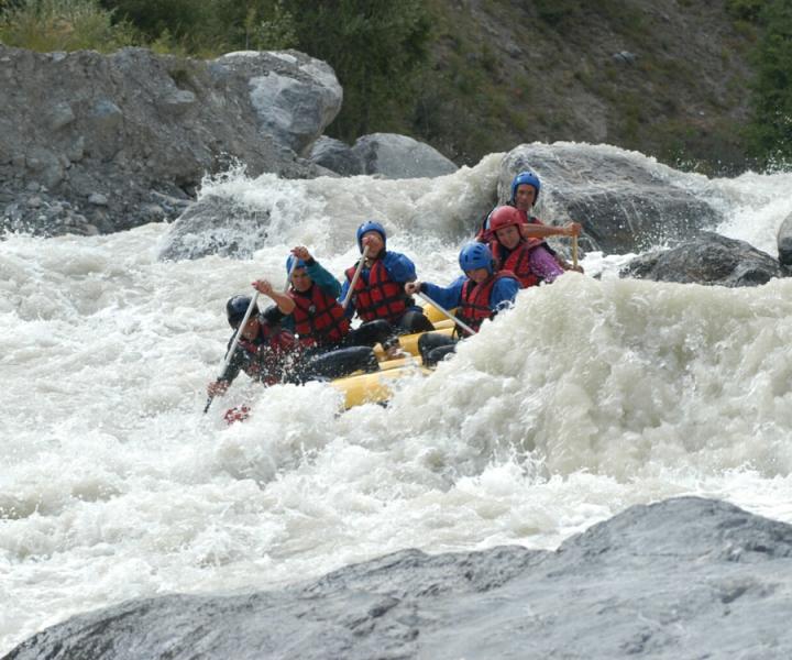 rafting famille hautes alpes