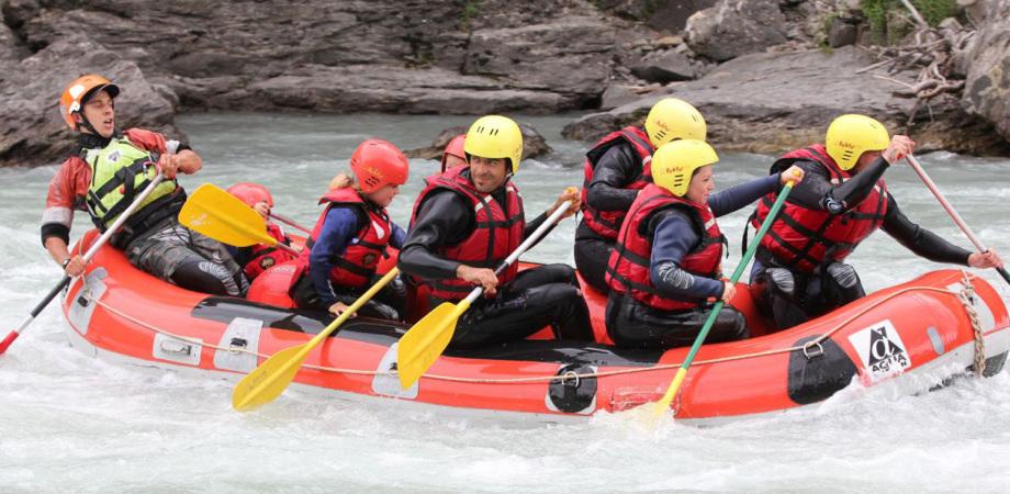 rafting durance